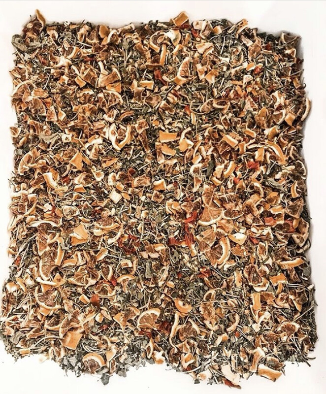 """""""Ass Kicker"""" Homegrown Herbal Tea Blend"""