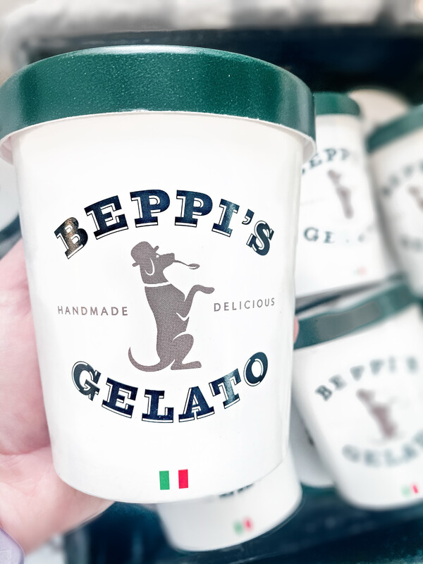Beppis Gelato Small Batch BIG DOG (Salted Caramel With Chocolate Chunks) Gelato 500ml (Local Only)