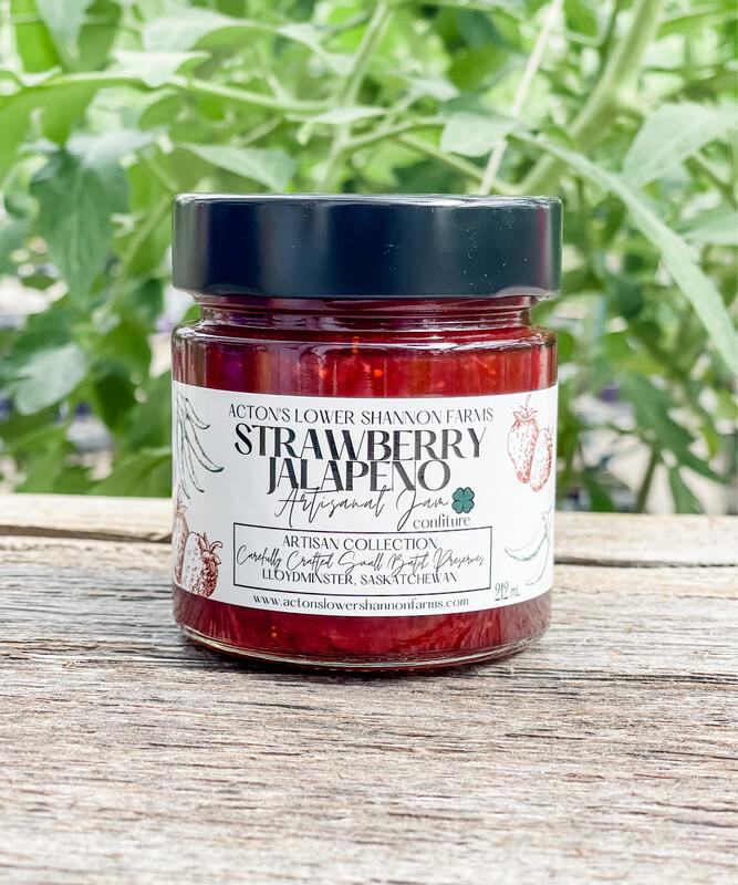 Strawberry Jalapeño Jam