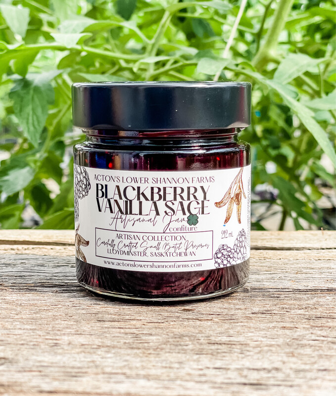 Blackberry Vanilla Sage Jam