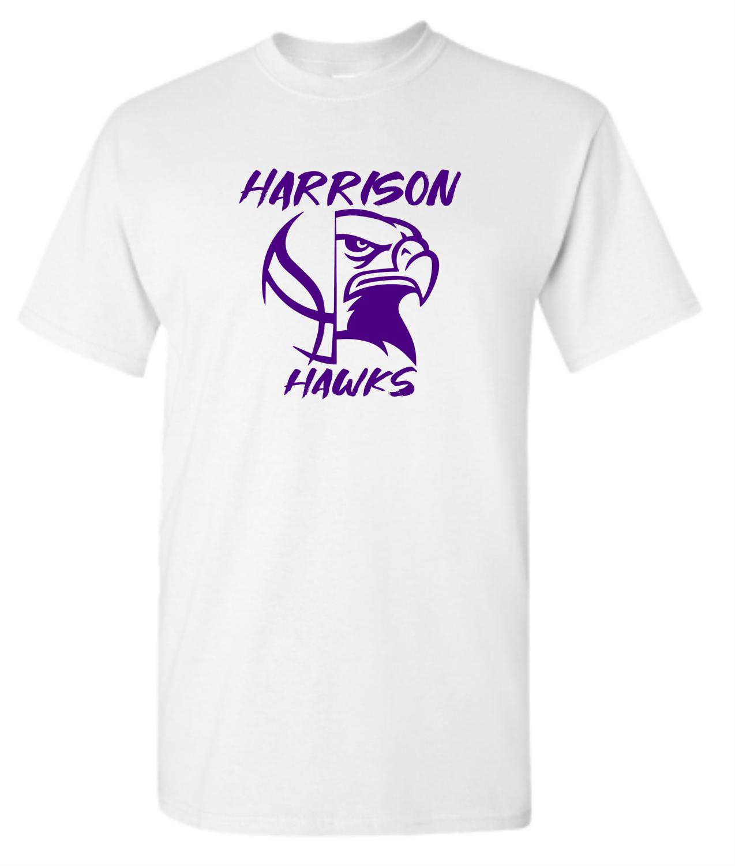 Harrison Hawks Basketbal Spot Dye Sublimation