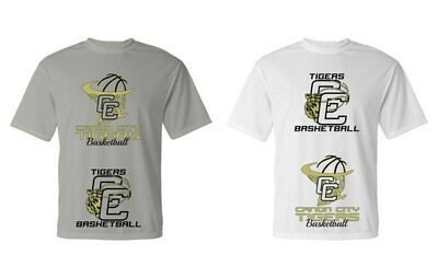 CCHS Tigers Basketball Spot Dye Sublimation