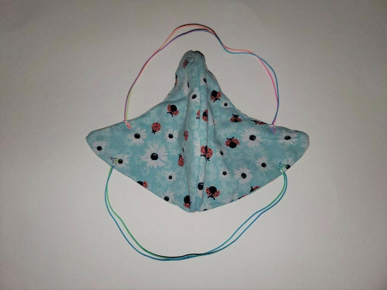 Ladybug Picnic Mask #1