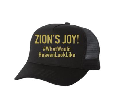 #WhatWouldHeavenLookLike Hat (Black) (COMING SOON)