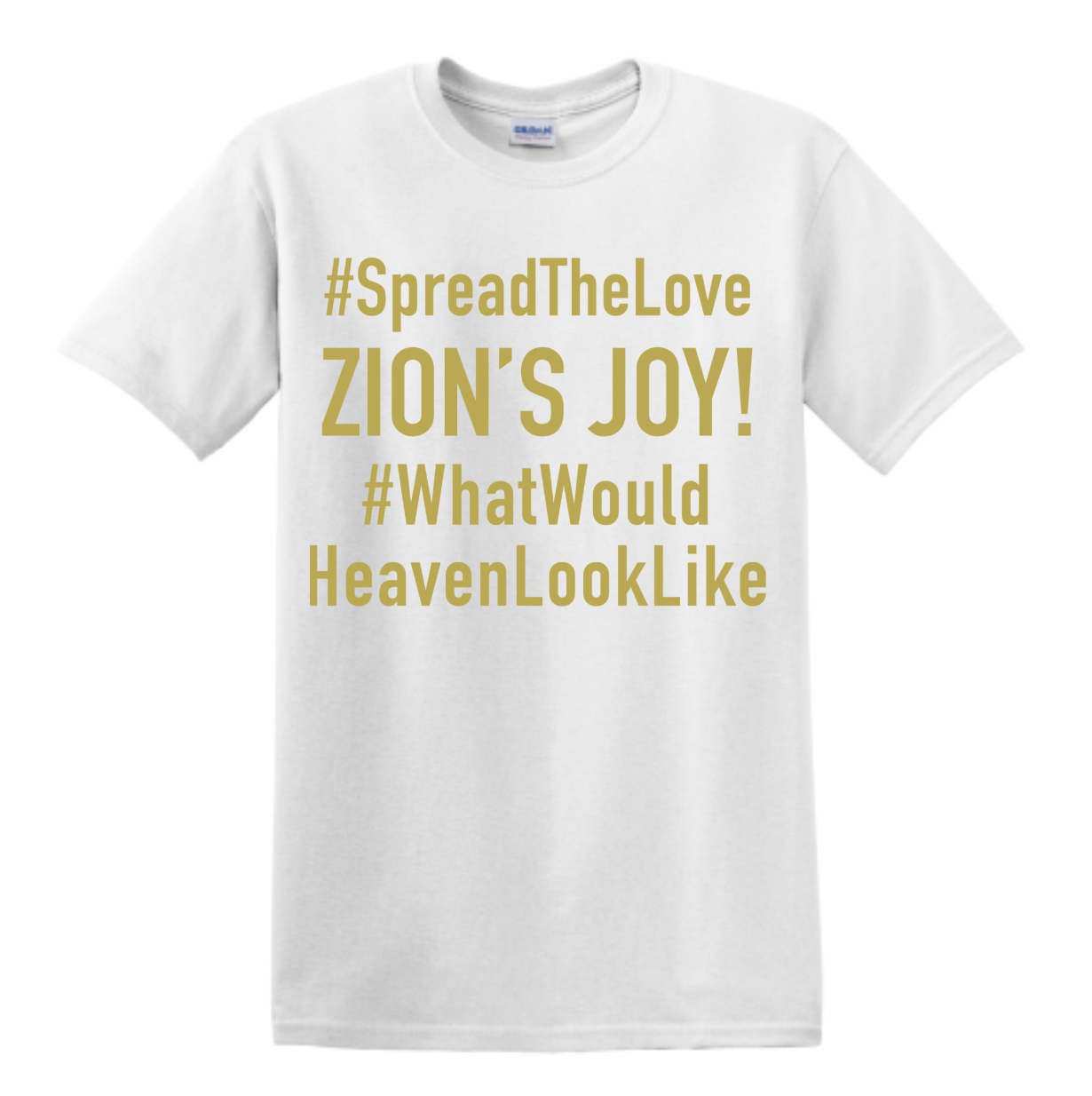 #SpreadTheLove What Would Heaven Look Like T-Shirt (White)