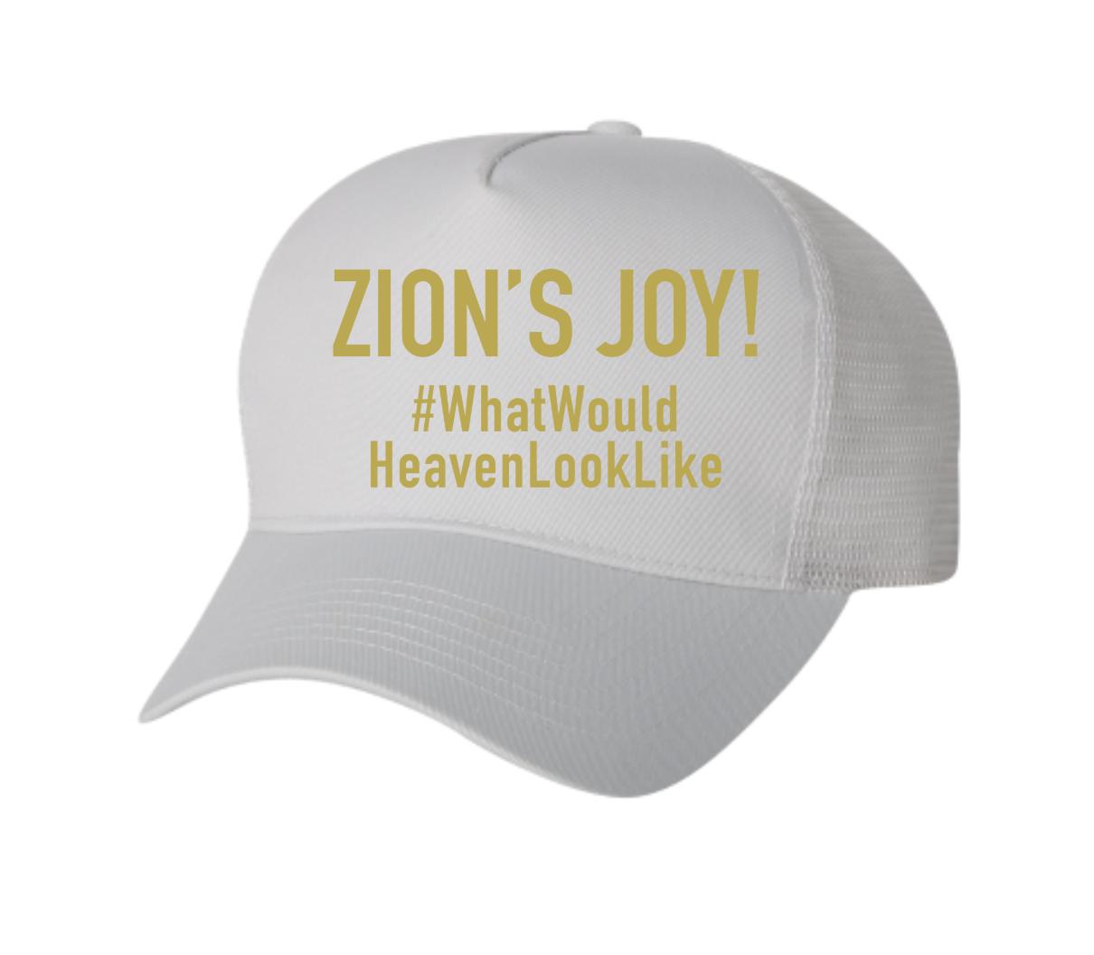#WhatWouldHeavenLookLike Hat (White) (COMING SOON)