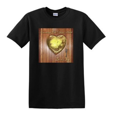 Knocking On Your Heart T-Shirt (Black)