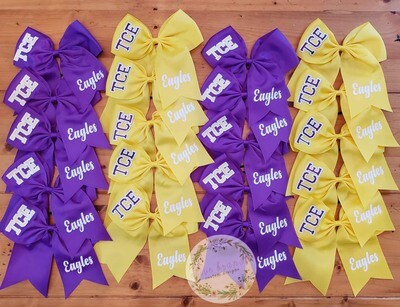 Hair Bow (purple only)