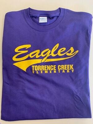 T-Shirt (Sporty Purple)