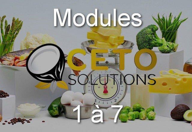 l'ABC du Céto - Tout les Modules (8)