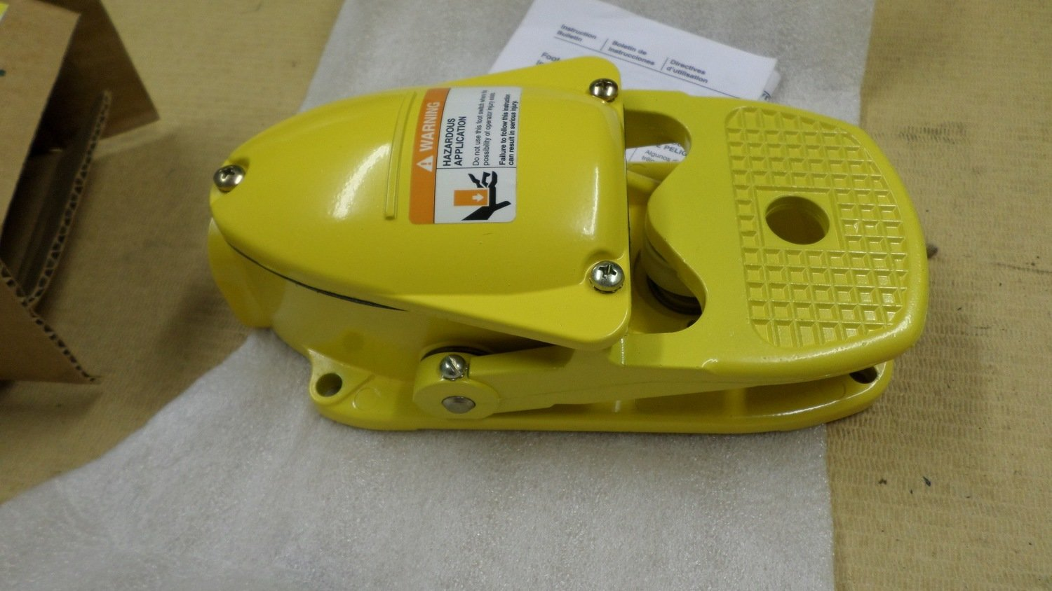 Switch Foot sander pedal 8295369