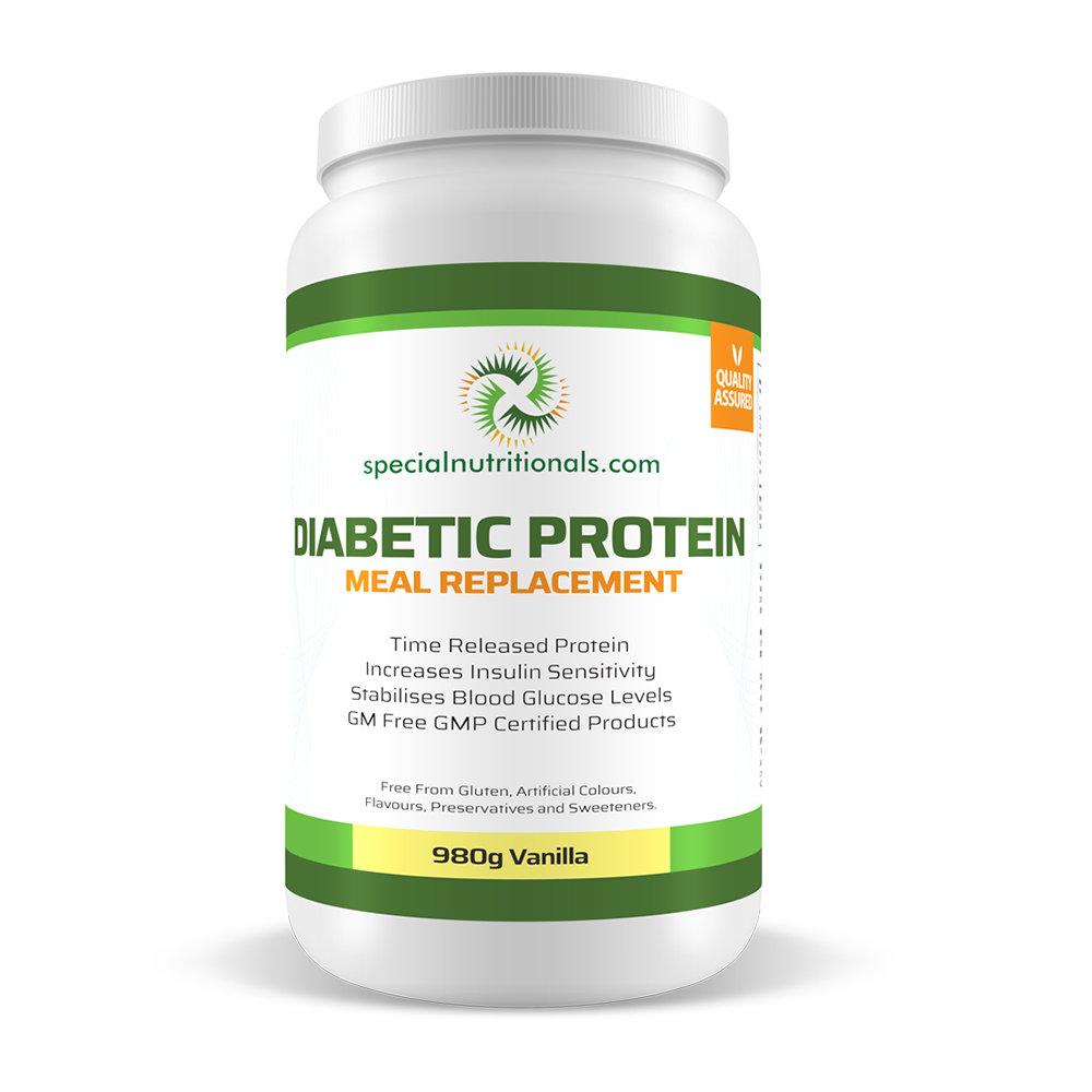 Diabetic Protein 980g - Vanilla