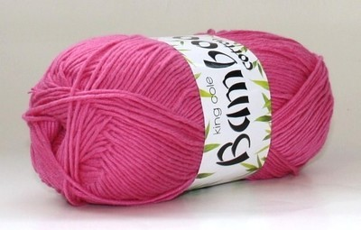 Bamboo Cotton DK - click for colour options