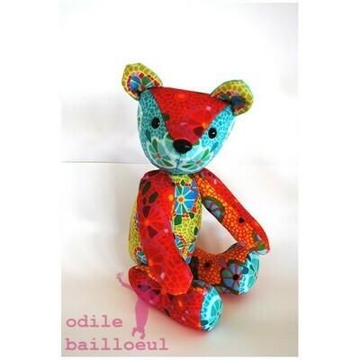 Velvet Teddy Kit - Mosaique