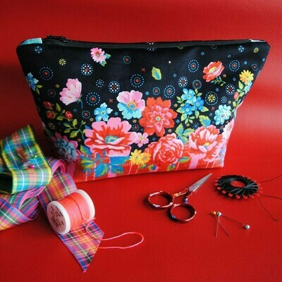 Velvet Sewing Bag Kit - Ingrid