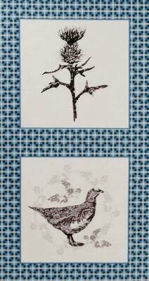 Highland Thistle & Grouse Panel