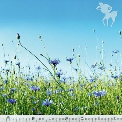 Flowers in a Field Panel