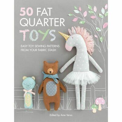 50 Fat Quarter Toys