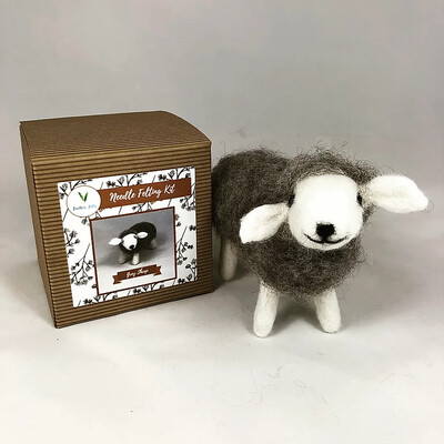 Grey Sheep Felting Kit