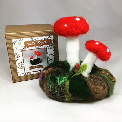 Toadstool Felting Kit