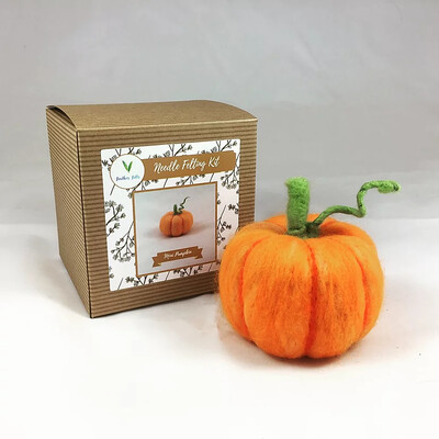 Mini Pumpkin Felting Kit