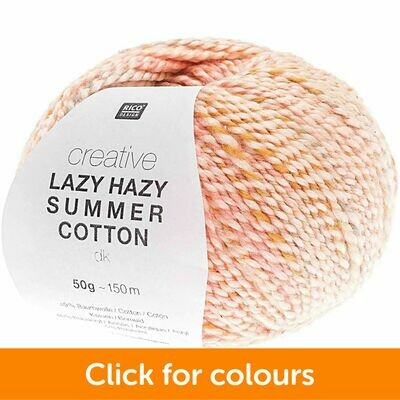 Lazy Hazy Summer Cotton DK