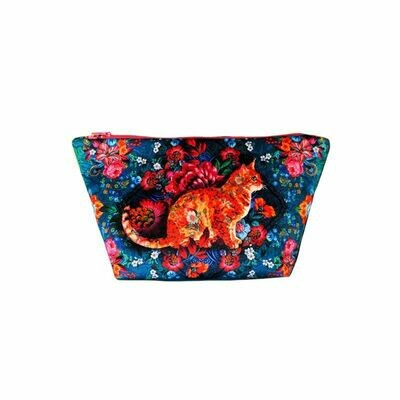Velvet Sewing Bag Kit - Malabar Cat