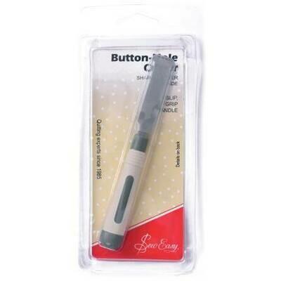 Button Hole Cutter: Soft Grip