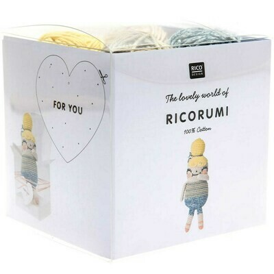 Ricorumi Crochet Friend Kit