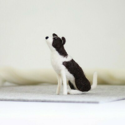 Border Collie Felting Kit