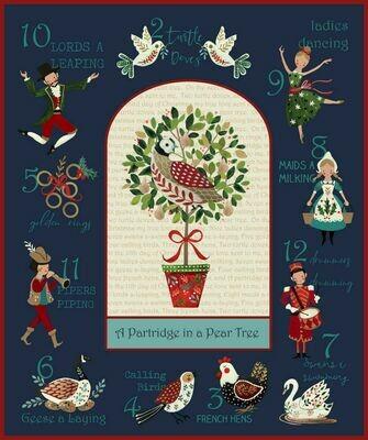 12 Days of Christmas Panel