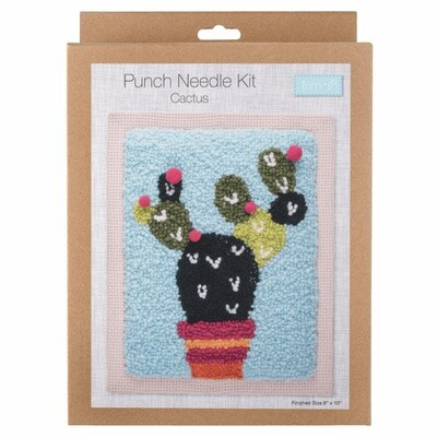 Punch Needle Cactus Kit