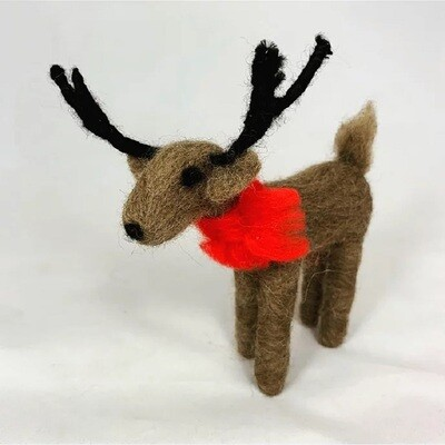 Reindeer Felting Kit