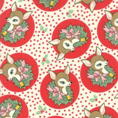 Deer Christmas - Red Fawn