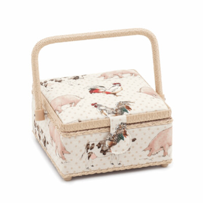 Farmyard Sewing Box