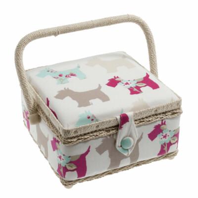 Scottie Dog Sewing Box