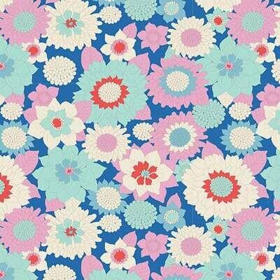 Boogie Flower - Blue