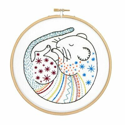 Dormouse Embroidery Kit