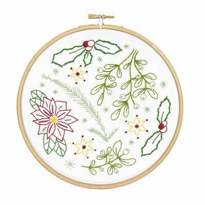 Winter Walk Embroidery Kit