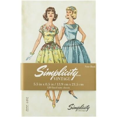 Simplicity Vintage Notebook 4492