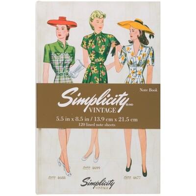 Simplicity Vintage Notebook 4688