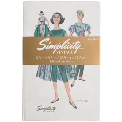 Simplicity Vintage Notebook 3238