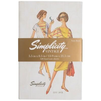 Simplicity Vintage Notebook 3978