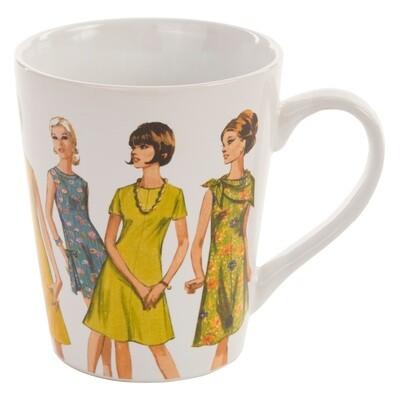 Simplicity Vintage Mug 1960s