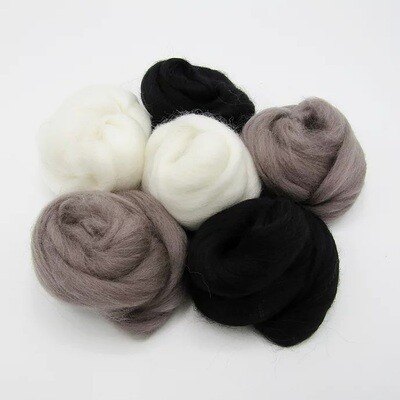 Neutral Felting Wool Bundle