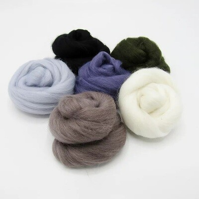 Winter Felting Wool Bundle