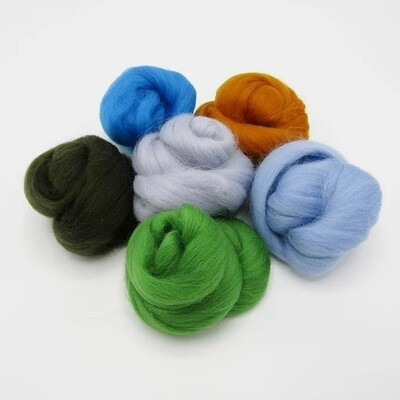 Lakes Felting Wool Bundle