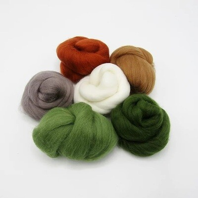 Highlands Felting Wool Bundle