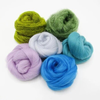 Rock Pools Felting Wool Bundle