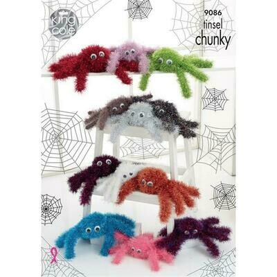 Spider Tinsel Chunky Pattern - 9086